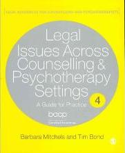 Legal Issues Across Counselling & Psychotherapy Settings