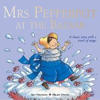 Mrs Pepperpot At The Bazaar
