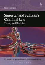 Simester and Sullivan's Criminal Law