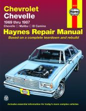 Chevrolet Chevelle V8 and V6 1969-87 Chevelle, Malibu, El Camino Owner's Workshop Manual