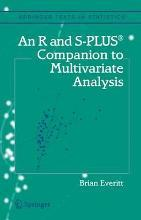 An R and S-Plus (R) Companion to Multivariate Analysis