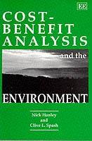 Cost-benefit Analysis and the Environment