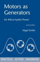 Motors as Generators for Micro-hydro Power