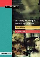 Teaching Reading in the Secondary Schools