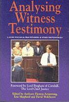 Analysing Witness Testimony