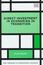Direct Investment in Economies in Transition