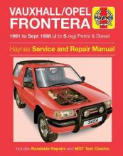 Vauxhall Frontera Service and Repair Manual