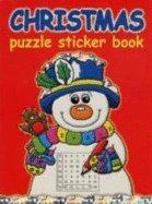 Christmas Puzzle Sticker Book