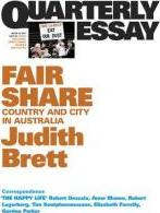 Fair Share: Country and City in Australia: Quarterly Essay 42