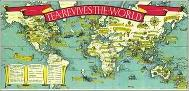 Tea Revives the World Map 1940