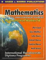 Mathematical Studies - Standard Level