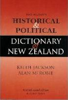 The Hazard Historical & Political Dictionary of New Zealand