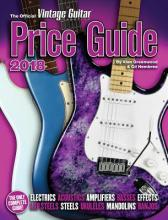 The Official Vintage Guitar Magazine Price Guide - 2018