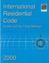 International Residential Code 2000 For One Two Family Dwellings