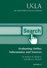Evaluating Online Information and Sources