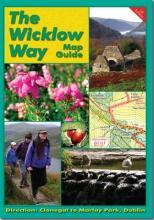 The Wicklow Way Map Guide: Clonegal to Dublin