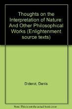 Thoughts on the Interpretation of Nature: And Other Philosophical Works