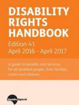 Disability Rights Handbook: April 2016 - April 2017
