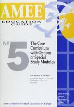 The Core Curriculum with Options or Special Study Modules