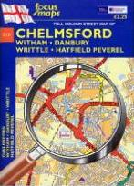 Full Colour Street Map of Chelmsford