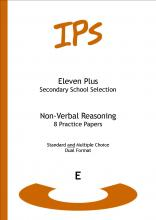 Eleven Plus Non-verbal Reasoning Practice Papers: Dual Format Book E