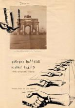 Correspondence - Georges Bataille and Michel Leiris