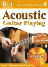 Acoustic Guitar Playing: Grade 4