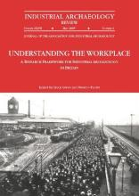Understanding the Workplace: A Research Framework for Industrial Archaeology in Britain 2005