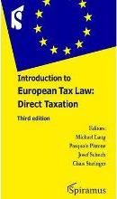 Introduction to European Tax Law
