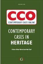 Contemporary Cases in Heritage Tourism