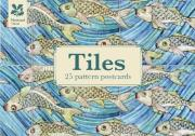Tiles Design Postcard Book