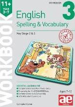 11+ Spelling and Vocabulary Workbook 3