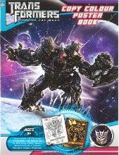 Transformers 3 Dark of the Moon Copy Colour Poster Book