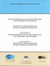 ASCE 5-99 / ASCE 6-99 Commentary on Specification for Masonry Structures
