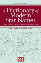 A Dictionary of Modern Star Names