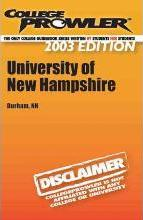 College Prowler University of New Hampshire
