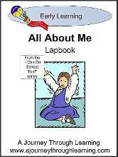 All About Me Preschool Lapbook (I Can Do School Too!)
