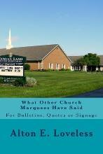 What Other Church Marquees Have Said