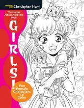 The Mighty Coloring Book of Manga Girls