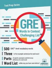 GRE Words in Context -- Challenging List
