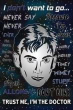 Trust Me, I'm the Doctor - Tenth Doctor - Doctor Who Journal Lined Notebook