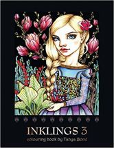Inklings 3 Colouring Book by Tanya Bond