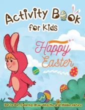 Activity Book for Kids - Happy Easter