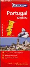 Michelin Portugal Map 733