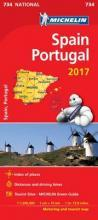 Spain & Portugal 2017 National Map 734