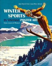 The Winter Sports in Vintage Poster Art