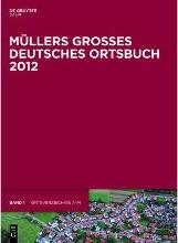 Mullers Groes Deutsches Ortsbuch 2012