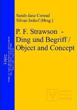 P. F. Strawson Ding Und Begriff / Object and Concept