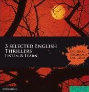 PONS/Cambridge: 3 selected EnglishThrillers, Audiobooks