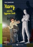 Harry and the Egyptian Tomb. Buch mit Audio-CD  Englische Lektüre Stage 4 A2